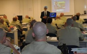 Jaswant S. Chani presenting to officers at a previous SALDEF LEPP training.